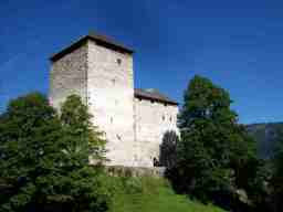 Burg Kaprun, Foto (c)  Dr. Klemens Waldhör, August 2008